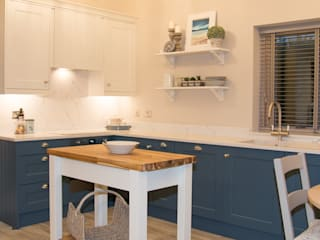 The Garden Lodge ADORNAS KITCHENS Classic style kitchen Wood Blue