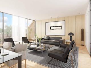 Renderings Wohnzimmer von Vizua® - Plattform für 3D-Designer