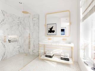 Renderings von Badezimmern von Vizua® - Plattform für 3D-Designer