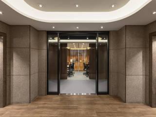 伊歐室內裝修設計有限公司 Espacios comerciales de estilo industrial