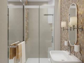 Minimalist style bathrooms by Aleksandra Kostyuchkova Minimalist