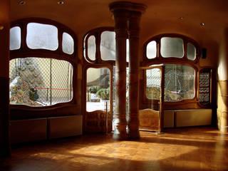 Arquitetura Casas modernas por diRomeu Cine Video Moderno