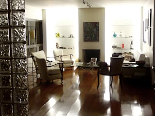 Interiores Casas modernas por diRomeu Cine Video Moderno