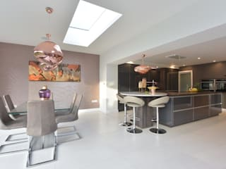 Mr & Mrs O'Hare de Diane Berry Kitchens Moderno