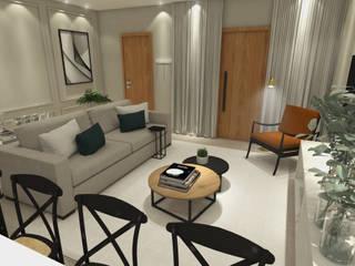 Salas de estar modernas por ZOMA Arquitetura Moderno
