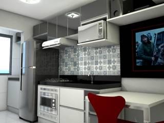 Projeto de interiores BJ Cozinhas modernas por Arquiteta Aline da Silva Freitas Moderno