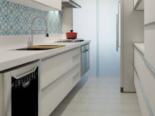 Маленькие кухни в . Автор – Aya Arquitetura, Модерн