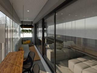 балконы в . Автор – Aya Arquitetura, Лофт