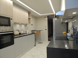 Reforma Depto Las Condes :  de estilo  por Kaa Interior | Arquitectura de Interior | Santiago