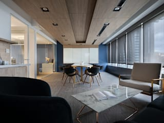 伊歐室內裝修設計有限公司 Estudios y despachos de estilo industrial