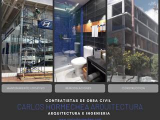 General: Casas unifamiliares de estilo  por CARLOS HORMECHEA ARQUITECTURA,