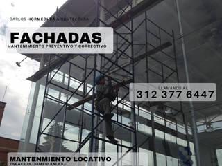 General: Conjunto residencial de estilo  por CARLOS HORMECHEA ARQUITECTURA,