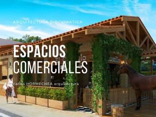General: Casas campestres de estilo  por CARLOS HORMECHEA ARQUITECTURA,