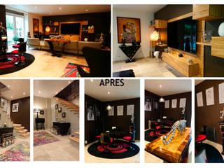 Maison en bord de Seine . R-deCH 150m² par AZ Createur d'intérieur