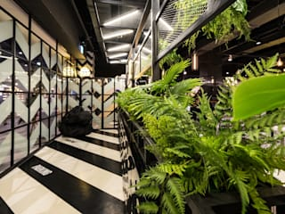 Salas de estilo industrial de im100 communications Industrial