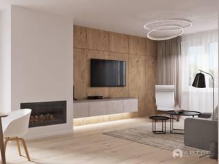 Гостиная: Гостиная в . Автор – Архитектурная студия 'АВТОР'