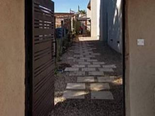 1.61arquitectos 石頭庭院