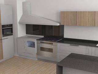 Cucina country Cucina moderna di G&S INTERIOR DESIGN Moderno