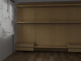 Cabina Armadio a Laives (BZ) Spogliatoio moderno di G&S INTERIOR DESIGN Moderno