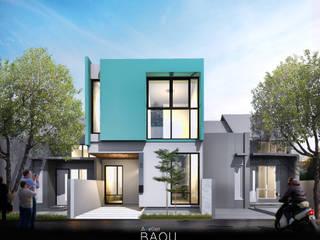 SG HOUSE:  Rumah kecil by Atelier BAOU+