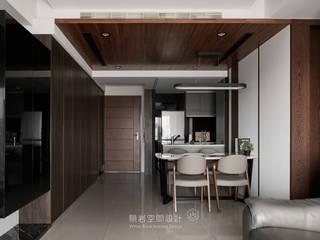 台北市 內湖區 劉公館:  餐廳 by 顥岩空間設計