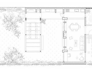 Diseño y Construcción de casa en Valle Anisacate por 1.61 Arquitectos: Casas unifamiliares de estilo  por 1.61 Arquitectos
