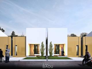 CC HOUSE:  Rumah kecil by Atelier BAOU+