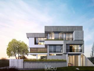 FM HOUSE:  Rumah keluarga besar by Atelier BAOU+