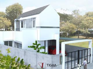 AN House : Rumah oleh Tigha Atelier, Modern