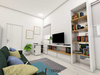 Tigha Atelier Living room White