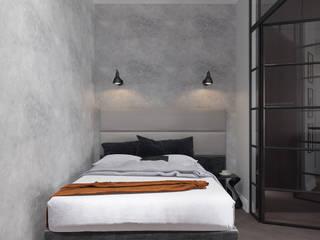 Dormitorios de estilo  de Архитектурное бюро «Парижские интерьеры»