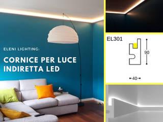 Cornice per led a parete o soffitto EL301:  in stile  di Eleni Lighting