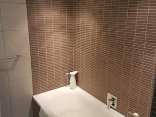 Bathroom Renovation:   by Inline Spaces Pty Ltd,
