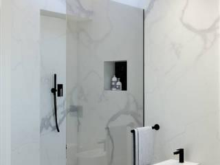 Cassico Contemporaneo Bagno moderno di marco tassiello architetto Moderno