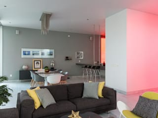 TaAG Arquitectura Modern living room