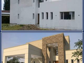 FACHADA M|G Casas modernas: Ideas, imágenes y decoración de Group Arquitectura Online Moderno