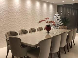 COND SUNSET : Salas de jantar  por 🔸 Arquiteto Fabio Munhoz 🔸