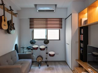 對話:  小臥室 by 松泰室內裝修設計工程有限公司