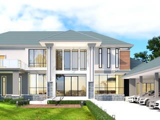 บ้านจำลอง 3D โมเดริน์ โดย บริษัท พี นัมเบอร์วัน ดีไซน์ แอนด์ คอนสตรัคชั่น จำกัด โมเดิร์น