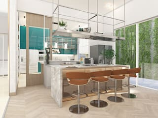 Mimo Residental Project - 1st Floor Oleh PT. Mimo Interior Asia