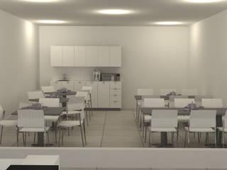 Comedores/ Área de Cocina de Organimuebles Minimalista