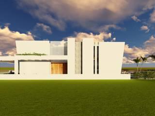 Minimalist house by Arturo Santander Arquitectos Minimalist
