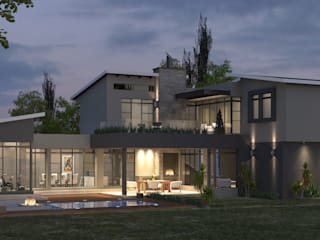 Residential Design Eye Of Africa:  Houses by Red Square Architectural Studio, Modern