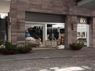 iló Metepec: Espacios comerciales de estilo  por Spazi