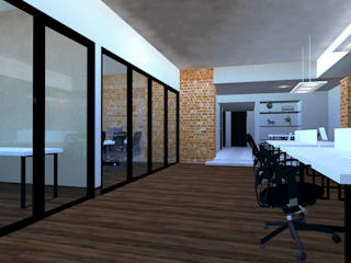 Study/office by VillaSi Construcciones