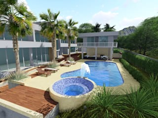 Multi-Family house by SEQUOIA. Projects & Designs, Tropical