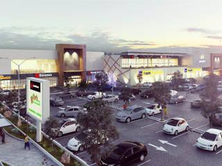 モダンなショッピングセンター の Helicoide Estudio de Arquitectura モダン