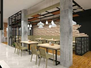 Interior Resto Bebek dan Soto:   by Residencia