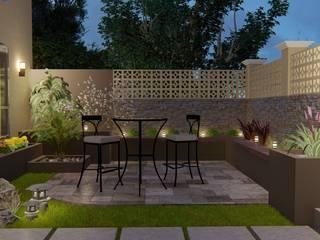 area exterior:  de estilo  por Construye Ideas