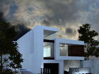 Casa REC: Casas unifamiliares de estilo  por ARTURO ARIAS ARQUITECTOS